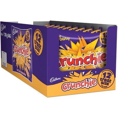 Cadbury Crunchie Treatsize 210g (Box of 10)