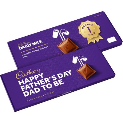 Happy Father's Day Dad To Be Bar
