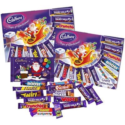 Cadbury Giant Selection Box Twin Pack