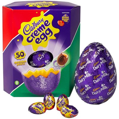 Cadbury Creme Egg Giant Easter Egg (460g)