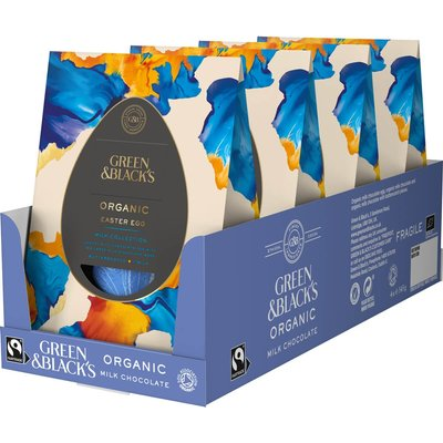 GB Organic Milk Collection Egg 345g (Box of 4)