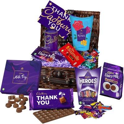 Thank You Chocolate Basket