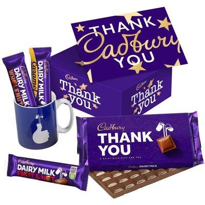 Thank You Chocolate Mug Set