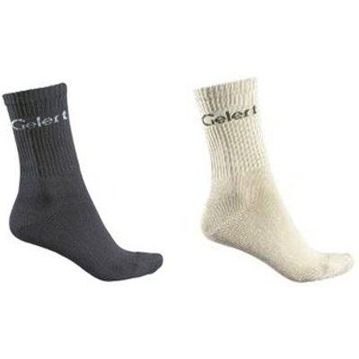Gelert Tourer Socks 2 PACK - CLAY - SMALL