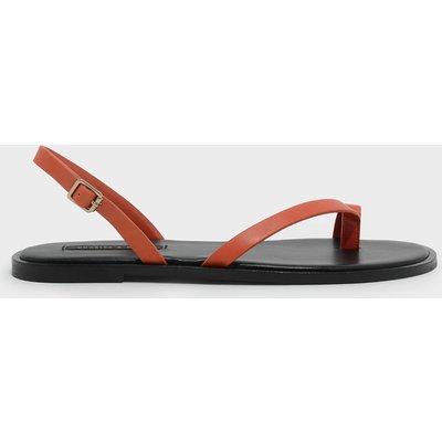 Slingback Thong Sandals