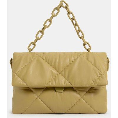 Puffer Chain Shoulder Bag