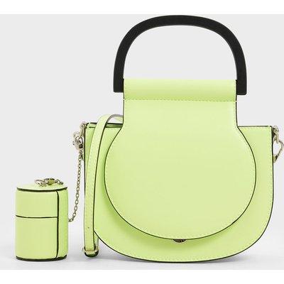 Mini Top Handle Saddle Bag