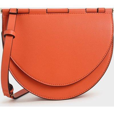 Semi-Circle Crossbody Bag