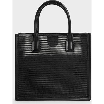 Mesh Double Handle Tote Bag