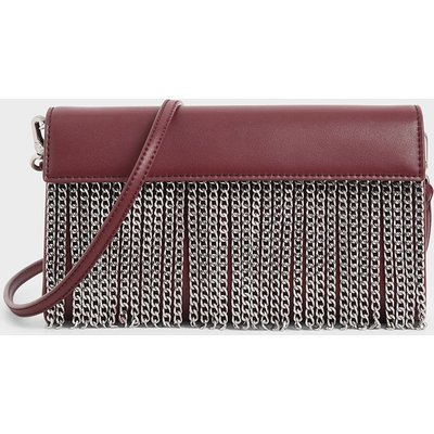 Chain Fringe Clutch