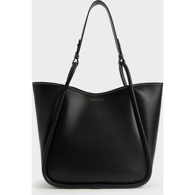 Circle Handle Tote Bag
