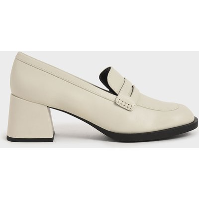 Penny Loafer Court Shoes