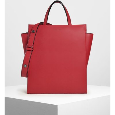 Double Handle Chain Link Tote Bag