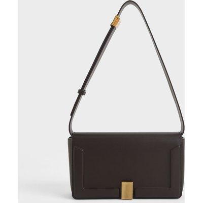 Elyse Turn-Lock Shoulder Bag