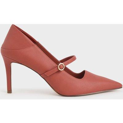Mary Jane Stiletto Court Shoes