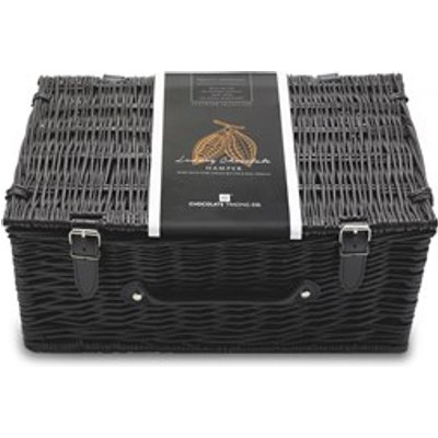 Empty Large Wicker Chocolate Gift Hamper - Large empty wicker hamper box to fill