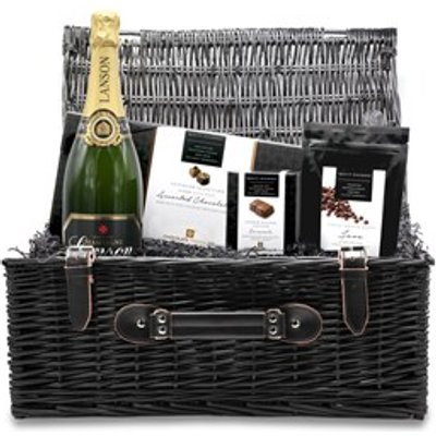 Chocolate and Champagne Large Wicker Gift Hamper