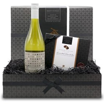 Chocolate and White Wine Small Gift Hamper