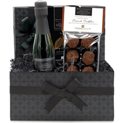 French Chocolate Truffles & Prosecco Mini Gift Hamper