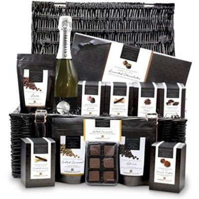 Grand Superior Chocolate Large Wicker Gift Hamper
