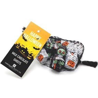 Chocolate mini ghosts gift net - Mini ghosts gift net