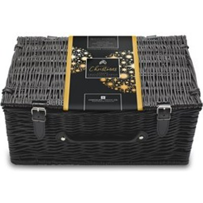 Christmas Chocolate and Champagne Large Wicker Gift Hamper