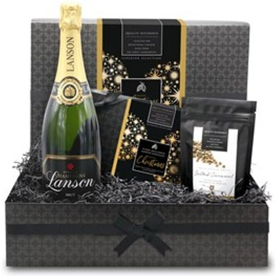 Christmas Chocolate and Champagne Small Gift Hamper