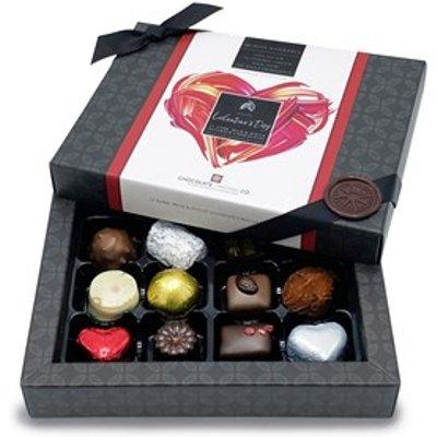 Valentine's 12 Assorted Chocolate Gift Box - Personalised 12 Box