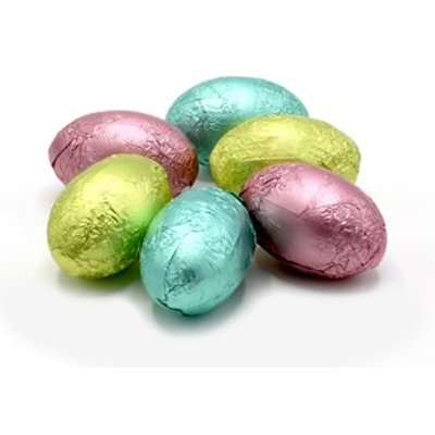 Textured Pastel Easter eggs 5cm - Bulk box of 65