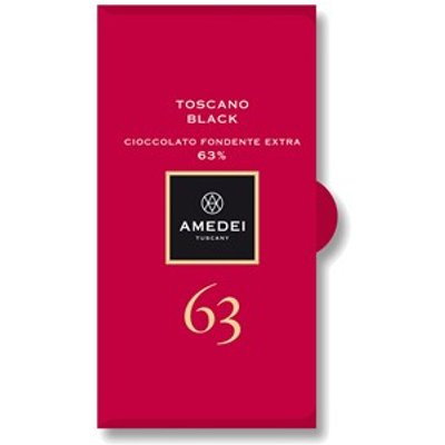 Toscano Black, 63% dark chocolate bar