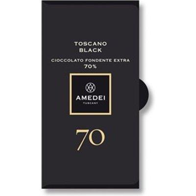 Toscano Black, 70% dark chocolate bar