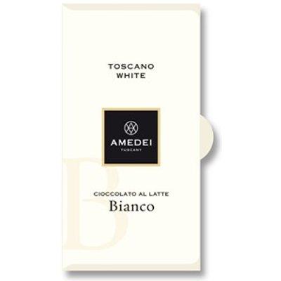 Toscano Bianco, white chocolate bar