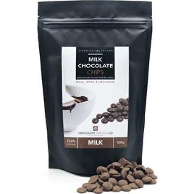 Milk Chocolate Chips - Medium 500g bag