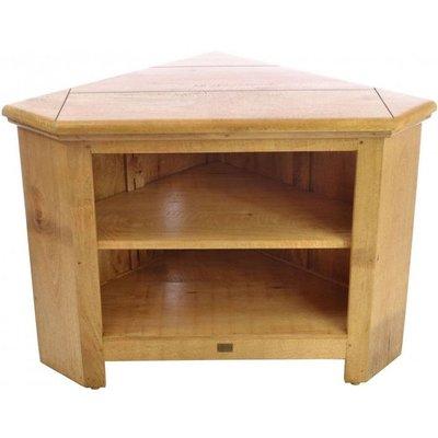 Ancient Mariner Plato Mango Wood Corner TV Unit