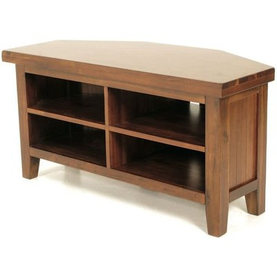 Annaghmore Roscrea TV Unit - Corner 2 Shelves