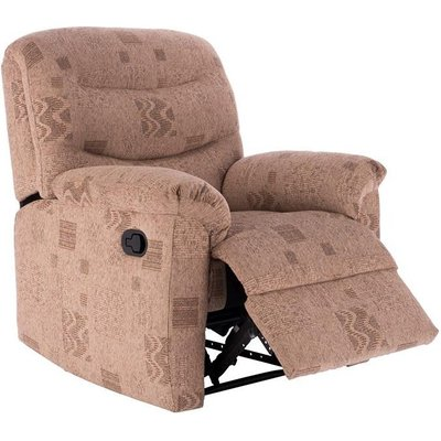 Birlea Regency Wheat Fabric Recliner Chair