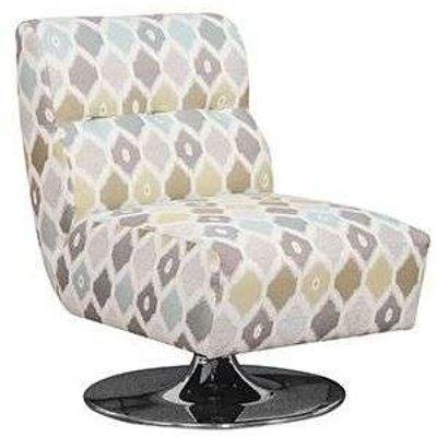 Buoyant Harris Swivel Fabric Chair