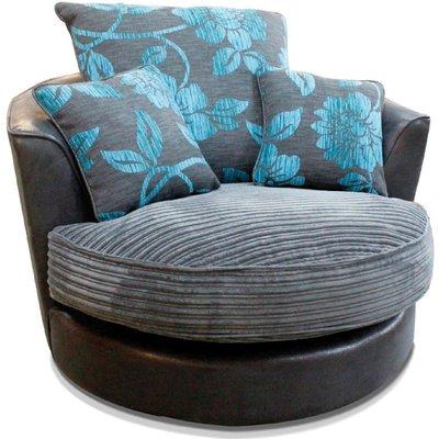 Buoyant Monique Fabric Swivel Chair