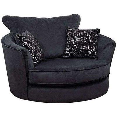 Buoyant Paris Snuggle Swivel Fabric Chair