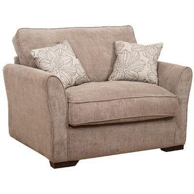 Buoyant Fairfield Fabric Love Chair