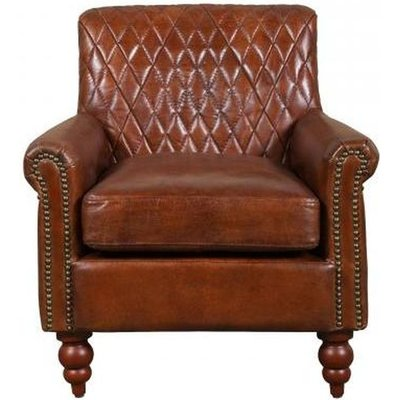 Carlton Additions Dakota Brown Leather Armchair