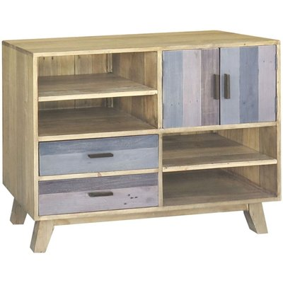 Classic Sorrento Small Sideboard - Reclaimed Pine