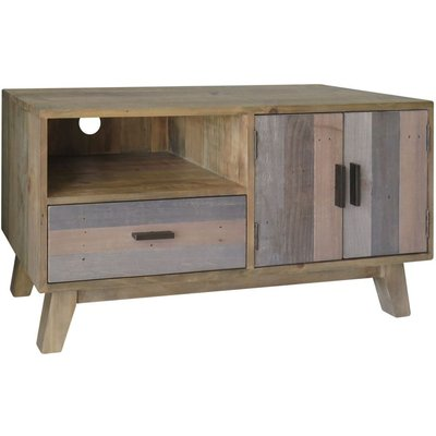 Classic Sorrento Small Entertainment Unit - Reclaimed Pine