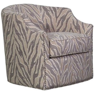 Guildford Light Taupe Jewel 1 Seater Swivel Chair