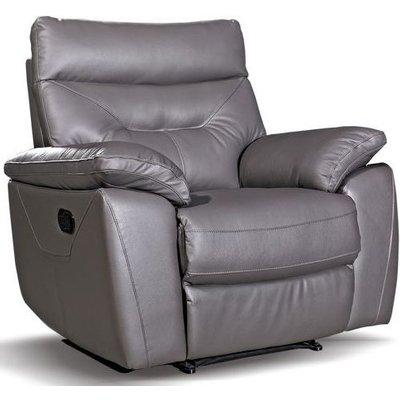 Como Grey Recliner Chair