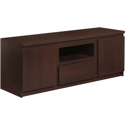 Messina Dark Mahogany TV Cabinet - 2 Door 1 Drawer