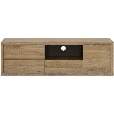 Prato TV Cabinet - Low 1 Door 3 Drawer