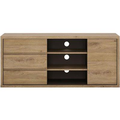 Prato TV Cabinet - 1 Door 3 Drawer