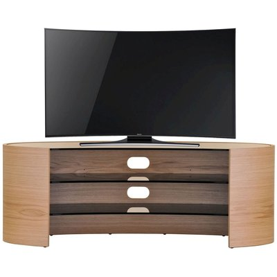 Tom Schneider Elliptical 1250 Oak TV Stand
