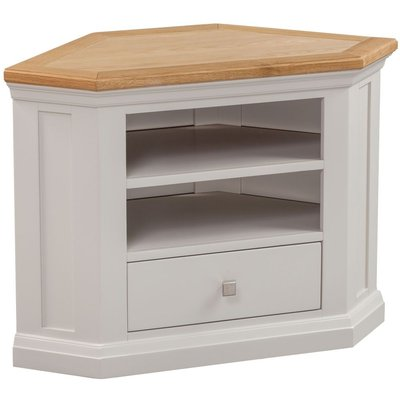 Homestyle Homestyle GB Cotswold Painted 1 Drawer Corner TV Unit